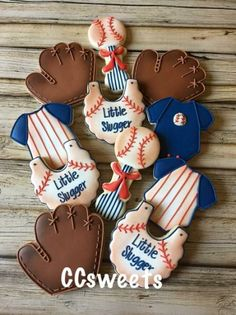 """The post Ideas for baby boy shower cakes sports birthday party ideas"""" appeared first on Pink Unicorn Cakes for boys Baby Shower Cakes For Boys, Boy Baby Shower Themes, Baby Shower Cookies, Baby Boy Shower, Baby Cookies, Sugar Cookies, Baseball Theme Birthday, Baby Boy 1st Birthday Party, Sports Birthday"""