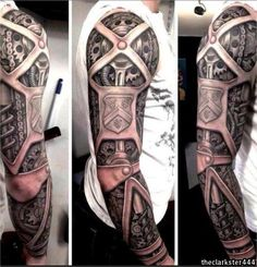 Steampunk tattoo #Steampunk #Tattoo #Style