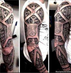 Sick steampunk tattoo