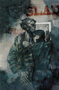 Days of Future Past: Wolverine and Kitty Pryde by Alex Maleev