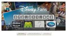 APP Compteurs de Like Disney     source : https://www.facebook.com/Disney/app_168179776575247