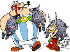 Asterix  Obelix : BD européenne la mieux vendue au monde.  De méchants tueurs de sangliers oui !