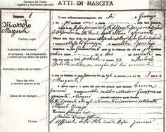 Actas de nacimiento, matrimonio y defunción en Italia - Actas parroquiales y del registro civil - Cómo solicitar una copia? A qué instituciones debemos dirigirnos?? y mucho más...