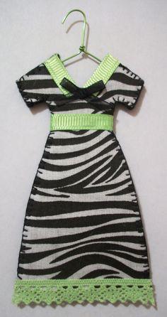 Safari Girl Miniature Dress by agapeboutique on Etsy, $9.95