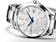 OMEGA Watches: Seamaster Aqua Terra Captain's Watch