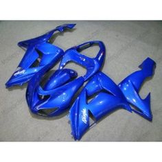 Kawasaki NINJA ZX10R 2006-2007 Injection ABS Fairing - Others - All Blue | $639.00