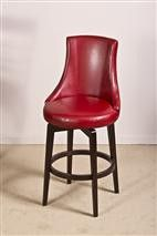 Hillsdale 5279-820 Santa Anita Swivel Counter Stool w/Red Vinyl