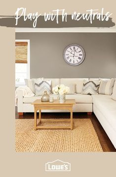 Home Decor A Fresh Coat Of Paint Can Do Wonders Transform Your Living Room With Our Top Paint Brands Find The Paint Color That Will Perfectly Complete Your Vision At Lowes Home Decor Bedroom, Interior Design Living Room, Living Room Designs, Interior Decorating, Decorating Ideas, Decor Ideas, Interior Paint, Room Ideas, Room Paint Colors