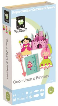 Cricut® Once Upon a Princess Cartridge