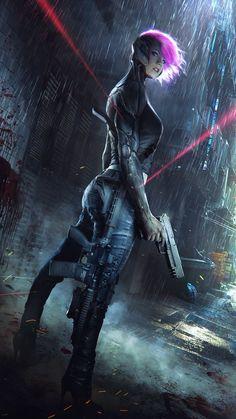 New sci fi concept art cyberpunk inspiration ideas Cyberpunk 2077, Cyberpunk Kunst, Cyberpunk Girl, Sci Fi Kunst, Illustration Design Graphique, Space Opera, New Retro Wave, Cyberpunk Aesthetic, Alien Concept Art