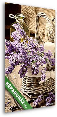 Bunch of freshly cut lavender, Premium Kollekció falikép, vászonkép, poszter falikép, vászonkép, poszter