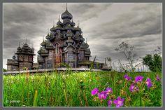 Kishi church, Russia