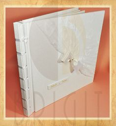 Handmade book / bookbinding - (Message Book - Wedding) - Handbound book - Handbound Journal