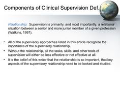 The model of nmcs non managerial clinical supervision counseling lpc models and techniques in clinical supervision fandeluxe Image collections
