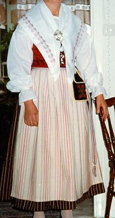 Norra Vedbo-dräkt - Småland Folk Costume, Costumes, Swedish Traditions, 7 Continents, Swedish Recipes, Evolution, Folk Art, Scandinavian, Culture