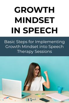 If you're considering how a growth mindset may fit into your life and work as an SLP without taking a single extra second away from your speech therapy sessions or other things you're already doing - this blog is for you. Discover the 3 basic steps for teaching growth mindset in speech therapy, on the blog. - Kiwi Speech