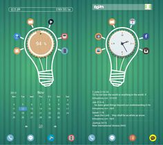 30 Cool & Customized Android Homescreens