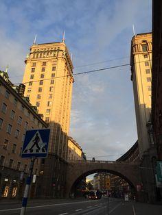 Stockholm: Kungsgatan 5 in the morning