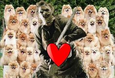 Cops arrested Texas Chainsaw Massacre star Andrew Bryniarski, who played Leatherface in the 2003 remake for hoarding 25 pomeranians in his Venice Beach RV.
