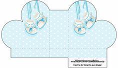 Zapatitos de Bebé: Cajas para Imprimir Gratis.