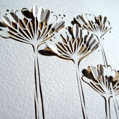 paper art via White Paper Press