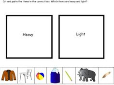 ... light on Pinterest | Worksheets, Weights and Kindergarten smorgasboard