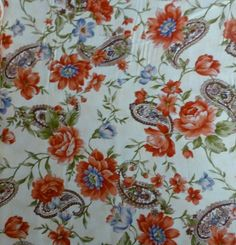Cotton Fabric,Quilt Fabric, Home Decor, Heart and Home,RJR Fabrics, 1830-1, Floral, Fast Shipping, F152