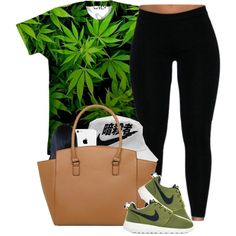 #OOTD 07.14.14 Nike Roshe ~ Ivory { Ivory's Online } by vintagetrillbrat on Polyvore featuring NIKE and Dorothy Perkins