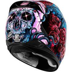 ICON - Women's Airmada Sugar Full-Face Motorcycle Helmet - Full-Face - Helmets - Street - Cycle Gear