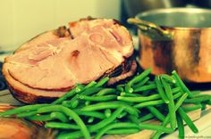 Savory Green Beans and Ham Recipe