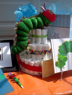The Very Hungry Caterpillar Baby Shower Party Ideas | Photo 9 of 18 | Catch My Party