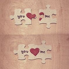Valentines day gifts for him long distance Make a puzzle note for him and make him put it together to see the note! Love Gifts, Diy Gifts, Gifts For Him, Be My Valentine, Valentine Day Gifts, Kids Valentines, Valentine's Day, Smash Book, Puzzle Pieces