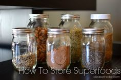 Superfoods, like chia seeds, flax seeds, goji berries and more, are becoming commonplace in kitchens across the world. Now that we all know what they are and why we should eat them, it's time to learn how to store them properly. The BEST way to store flax and chia seeds – and all superfoods –...
