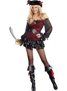 Adult Precious Booty Pirate Costume - Party City