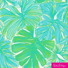 Lilly Pulitzer Fronds Place