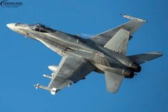 CF-18 Hornet on QRA (Quick Response Alert) duty at 19 Wing Comox - keeping our skies safe!