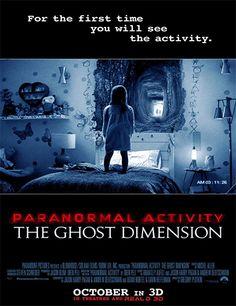 Poster de Actividad Paranormal: La Dimensión Fantasma