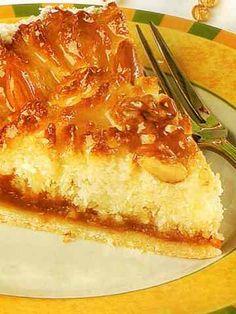 Recetas Argentinas .net  -  Tarta de coco y dulce de leche