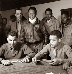 Tuskegee Airment of WWII - Old Picture of the Day