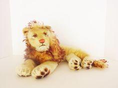 Vintage Steiff Leo the Lion Stuffed Animal
