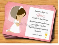 My Sweet Blog: Bigliettino bambino che prega per Comunione