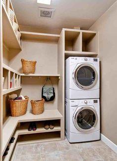 Useful organised utility room