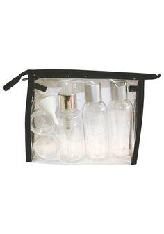 Reiseflasker til shampo, såpe, parfyme etc.