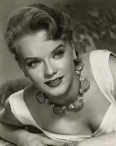 Anne Francis -  When I was a little girl I loved her, used to be such a fan of Honey West!