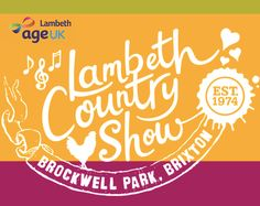 Come join us at Lambeth Country Show!  Age UK Lambeth will be there!  Saturday 16 and Sunday 17 July 2016, 12 noon-8pm at Brockwell Park. Free Entry!