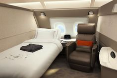Singapore Airlines Unveils a Massive First-Class Suite to Compete with Gulf Rivals – Skift