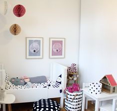 La habitación infantil de la pequeña Freja