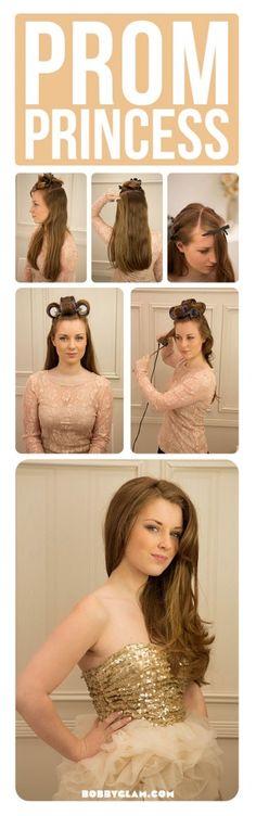 Prom Princess hair