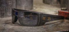 Custom Oakley Batwolf sunglasses with Cerakote Ceramic Coating. #cerakote #oakley #batwolf #eyewear #sunglasses