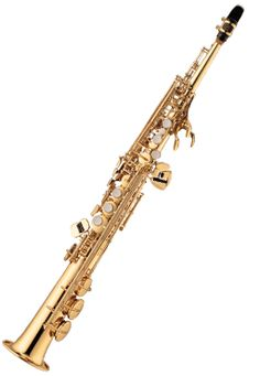 Soprano Saxophone. I so want to try to play this after I play the Alto Saxophone